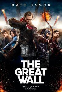 فيلم سور الصين العظيم The Great Wall 2016 مترجم للعربية