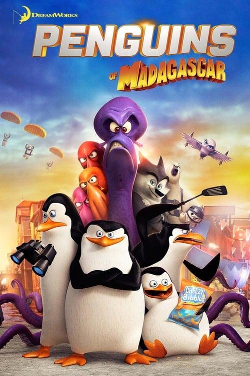 شاهد فلم الكرتون بطاريق مدغشقر Penguins Of Madagascar 2014 مدبلج للعربية شاهد اون لاين