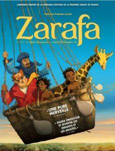 فلم الكرتون زرافة – Zarafa 2012 باللغتين العربية والفرنسية