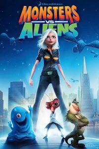 فلم الكرتون الوحوش ضد الفضائيين Monsters vs Aliens 2009 مدبلج للعربية