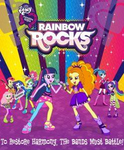 فلم الكرتون ماي ليتل بوني My Little Pony: Equestria Girls – Rainbow Rocks 2014 مدبلج للعربية