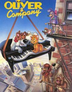 فيلم كرتون اوليفر و شركاه Oliver and Company 1988 أوليفر آند كومباني مدبلج للعربية