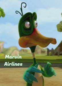 فيلم كرتون خطوط طيران مارفن Marvin Airlines 2017 – مدبلج للعربية