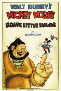 فيلم كرتون Brave Little Tailor 1983 الخياط الصغير الشجاع مدبلج
